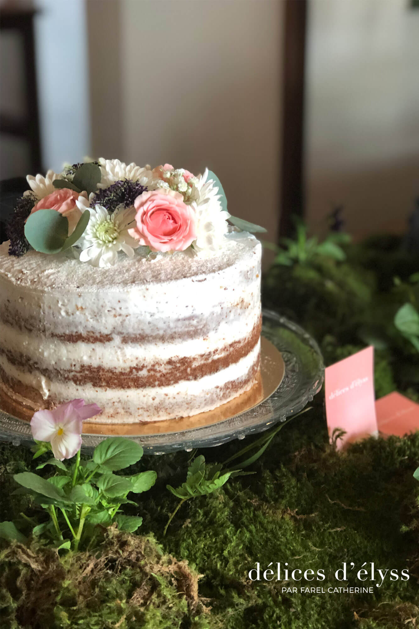 Ready Made Square Fruit Cake - Finest Ingredients | Nude Cakes